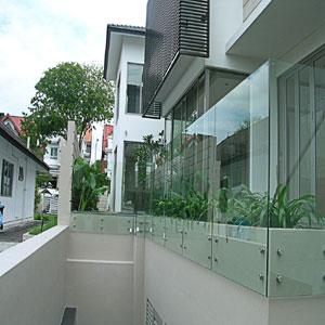 staklena terasa-gelender od stakla